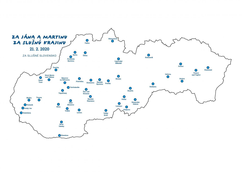 Mapa - Za Jana a Martinu 21-1-2020